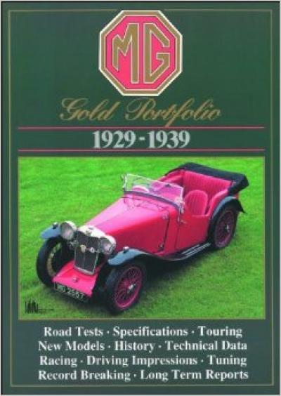 MG Gold Portfolio 1929-1939