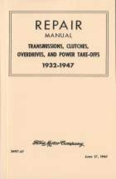 1932-1947 Repair Manual