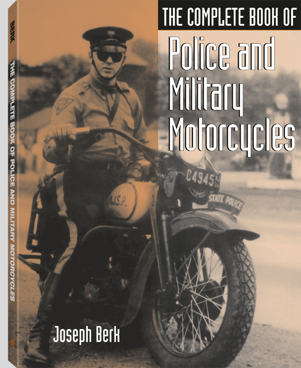 POLICE AND MILITARY MOTORCYCLE