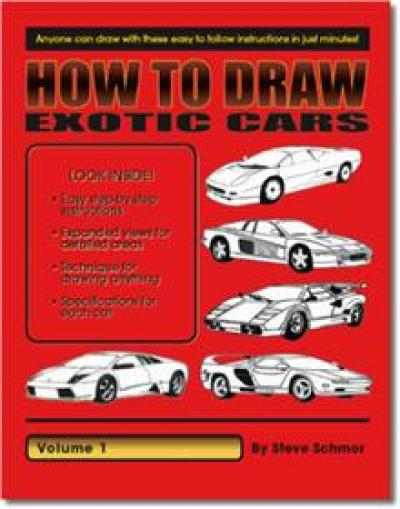 How to Draw Exotic Cars Vol 1