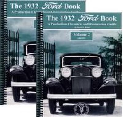 1932 Ford Book - 2 vol