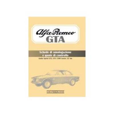 Alfa Romeo GTA Schede di Omolo