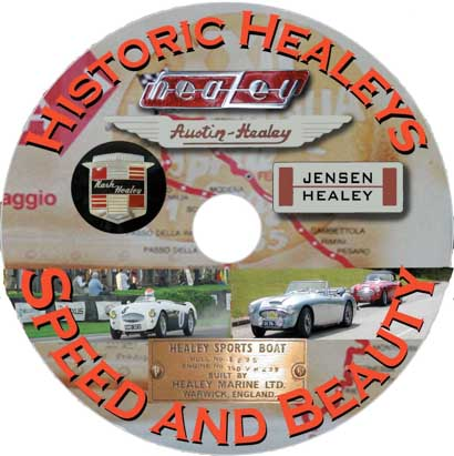 Historic Healeys Speed & Beaut