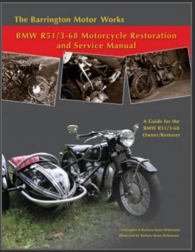 BMW R51/3-68 Restoration