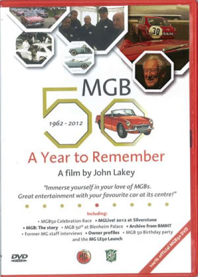 MGB 50 A Year to Remember