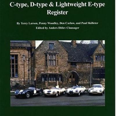 Jaguar C-Type , D-Type  & Lightweight E-Type Register