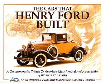 Cars That Henry Ford Built