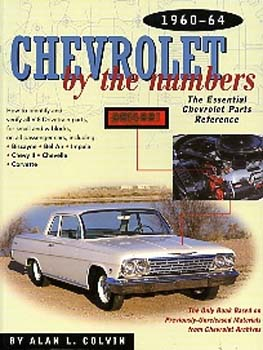 Chevy By The Numbers 60-64