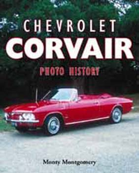 CHEVROLET CORVAIR PHOTO HIST.