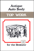Antique Auto Body Top Work