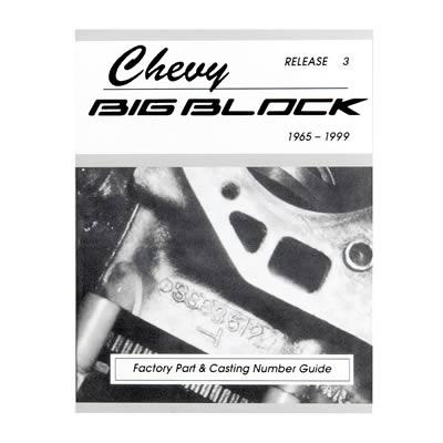 Chevy Big Block Casting #'s