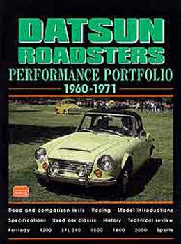 Datsun Roadsters Perf Pt 60-71