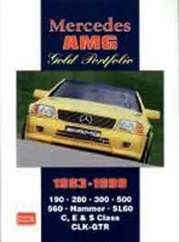 Mercedes AMG Gold Port '83-99