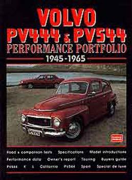 Volvo  PV444 & PV544  Perf Por