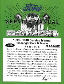 1939-48 FORD Service Manual
