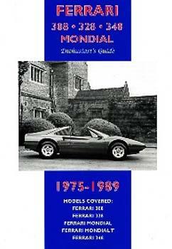 Ferrari 308, 328, 348 Mondial