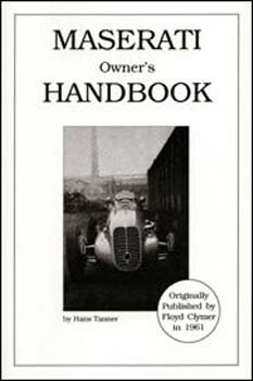 Maserati Owners Handbook