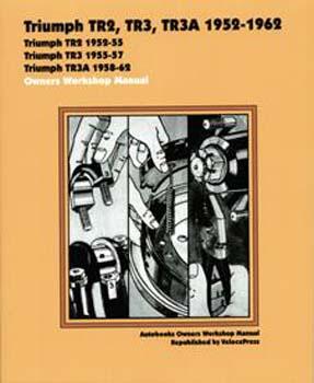 TRIUMPH TR2, TR3, TR3A 52-62