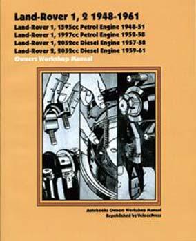 LAND ROVER 1, 2 1948-1961