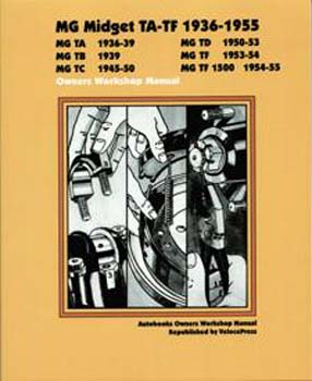 MG MIDGET TA-TF 1936-1955