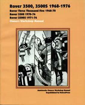 ROVER 3500, 3500S 1968-1976