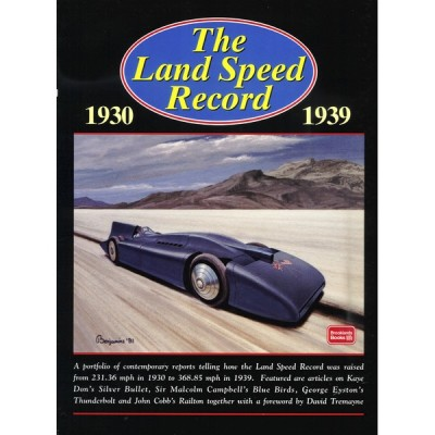 Land Speed Record 1930-1939