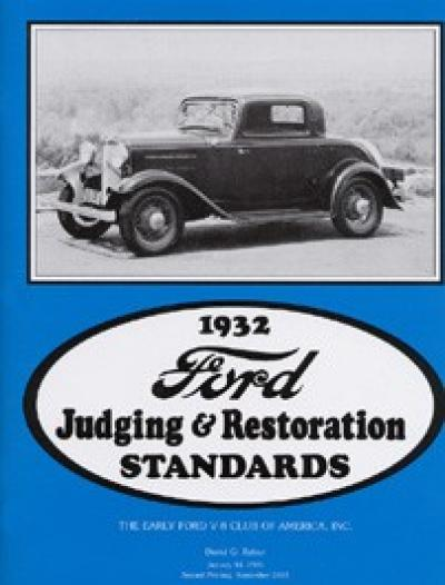 1932 Ford Book