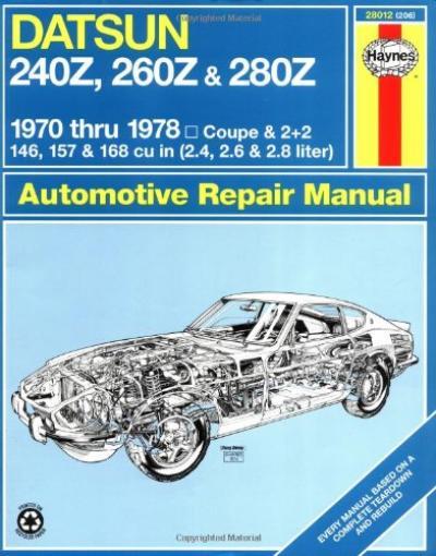 Datsun 240Z 260Z 280Z 70-78