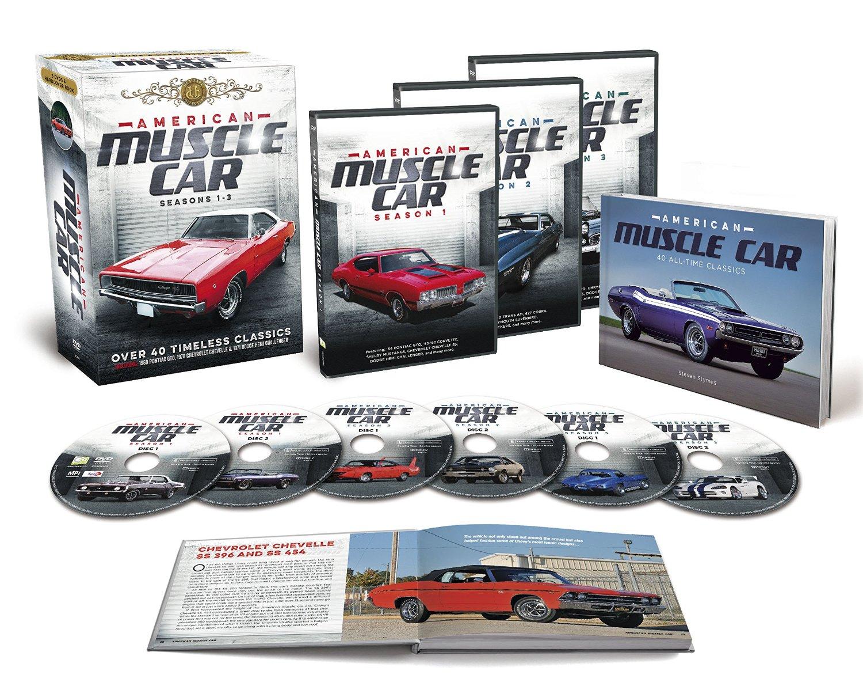 American Muscle Car Seasons 1-3 (6 DVD + Memorabilia Gift Set ...