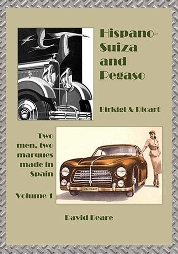 Hispano Suiza & Pegaso - Autobooks-Aerobooks