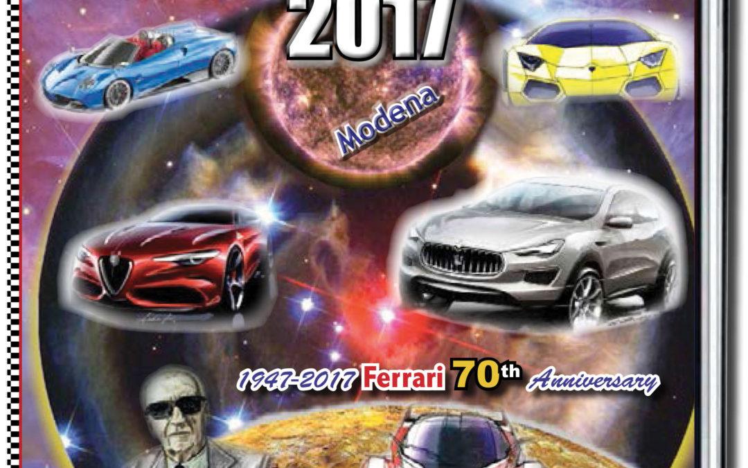 Menu dei Motori  N 21 Celebrating the 70th Anniversary of FERRARI
