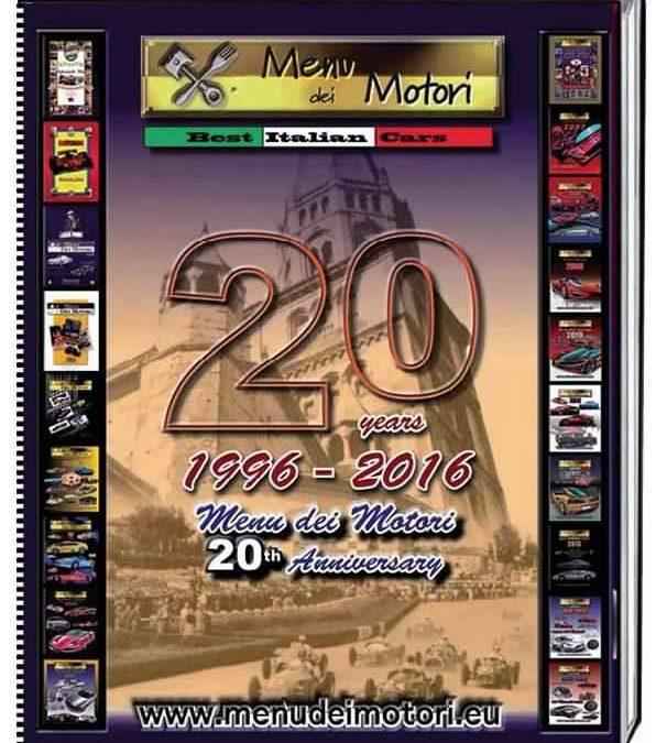 Menu dei Motori  The book of the 20th Anniversary